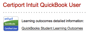 Intuit Quickbooks certification at CCSF Downtown campus