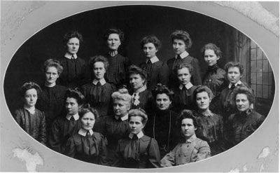 The Methodist Class of 1904.