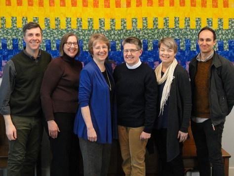 CCS Staff 2016 - Scott Douglas, Lori Stewart, Maylanne Maybee, Ann Naylor, Janet Ross, David Lappano
