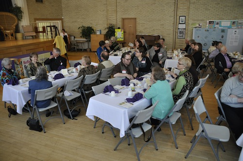 Graduation banquet at St. George's Anglican