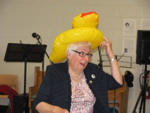 Jessie MacLeod, a proud DUCC... or is that duck?
