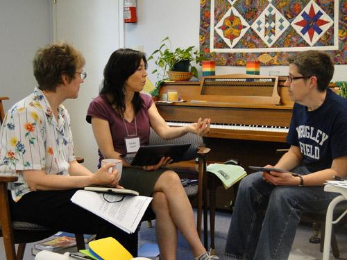 LDM planners - Maylanne, Kimiko, and Ann