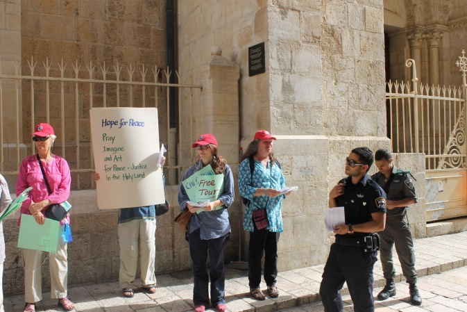 Station 6: Hope for Peace- Pray, Imagine and Act for peace and Justice in the Holy Land