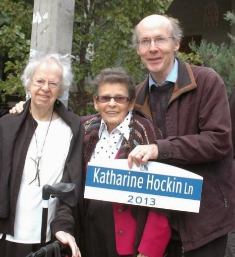 Marion Pope, Lois Wilson, and David Fallis