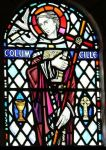 St. Columba stained glass