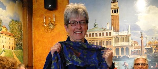 New CCS co-chair Kathy Platt at a spring 2014 learning circle