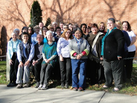 Pastoral Care Year students and Loss & Lamentation participants
