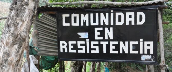 sign reading - comunidad en resistencia
