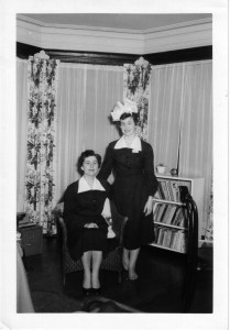 Edith Shore and Dorothy Nelson, 1956
