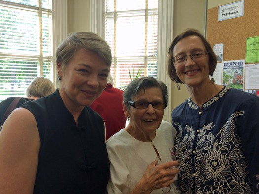 Janet Ross, Lois Wilson, and Patty Talbot