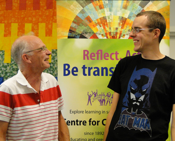 Integrating Year students Ian McLean and Joshua Ward