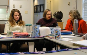 Sam from the Integrated Program Working Group and Lori and Linda from the Coordinating Team.