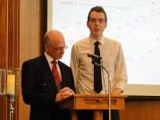 Graduates Ian McLean and Josh Ward