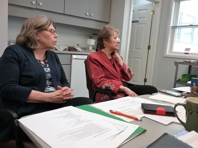 Linda and Maylanne look into the future of CCS's programs.