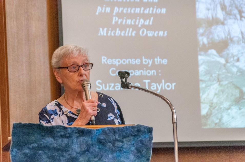 Companion Sue Taylor 2018