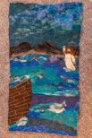 Felted tapestry created by Tif