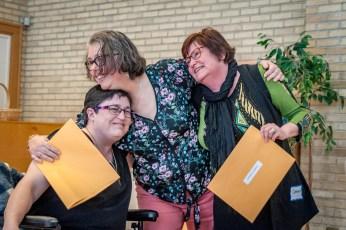 Melanie, Anita, Cathy Banquet 2018-