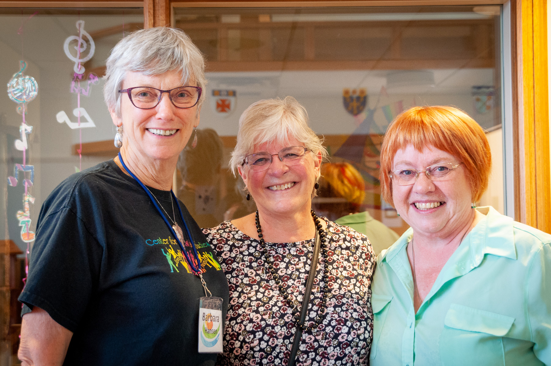 Barbara Hansen, United Church, Brigitte McKenzie, Lutheran Church, Nancy Ford, Anglican Church