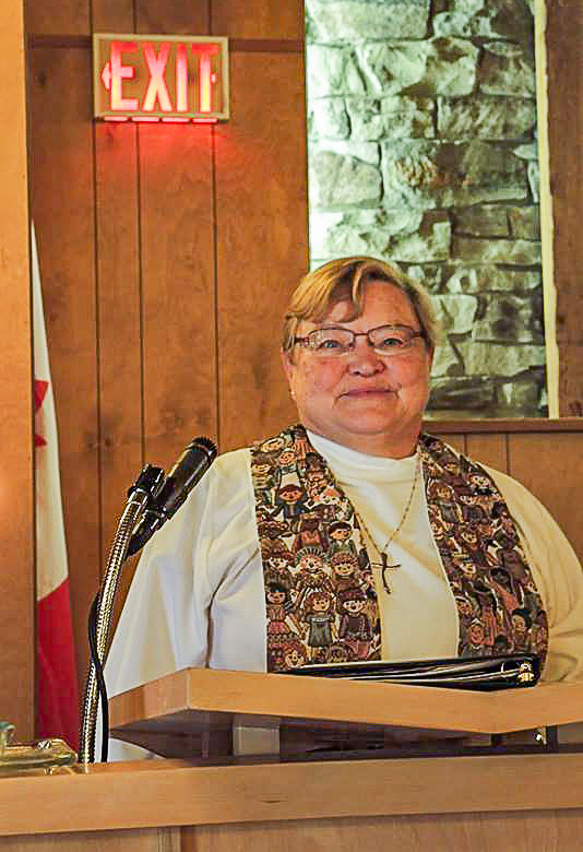Marilyn Burnard retires in Hamilton Conference