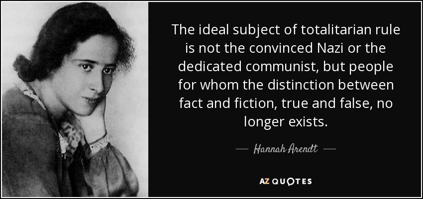 Book Review: The Origins of Totalitarianism by Hannah Arendt – Centre for  Christian Studies