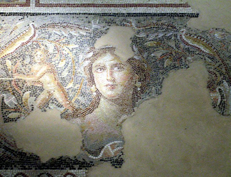 Galilean mosaic of a woman