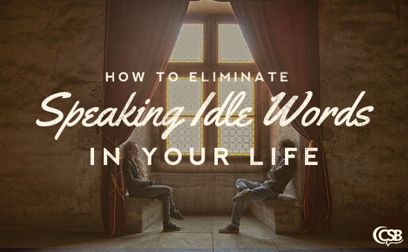 How to Eliminate Speaking Idle Words in Your Life