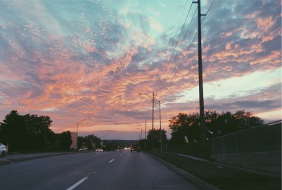 pink sky picture