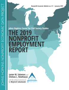 Johns Hopkins Employment >> Announcing The 2019 Nonprofit Employment Report From The