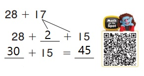 Go-Math-Grade-1-Chapter-8-Answer-Key-Two-Digit-Addition-and-Subtraction-Two-Digit-Addition-and-Subtraction-Show-What-You-Know-Lesson-8.7-Use-Place-Value-to-Add-On-Your-Own-THINK-SMARTER-Question-4