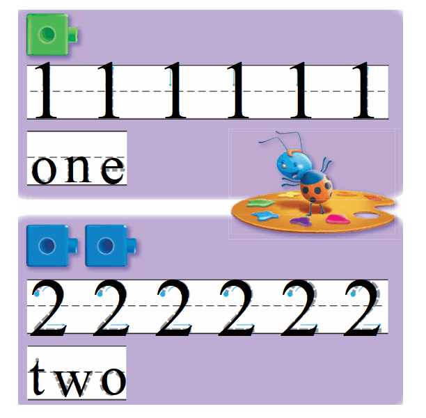 Go-Math-Grade-K-Chapter-1-Answer-Key-Represent-Count,-and-Write-Numbers-0-to-5-Lesson 1.2 Count and Write 1 and 2-Listen and Draw