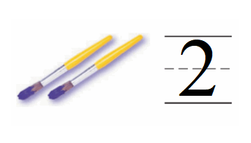 Go-Math-Grade-K-Chapter-1-Answer-Key-Represent-Count,-and-Write-Numbers-0-to-5-Lesson 1.2 Count and Write 1 and 2-Share and Show-4