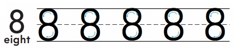 Go-Math-Grade-K-Chapter-3-Answer-Key-Represent-Count-and-Write-Numbers-6-to-9-Lesson-3.6-Count-and-Write-to-8-Listen-and-Draw-Share-and-Show-Question-2