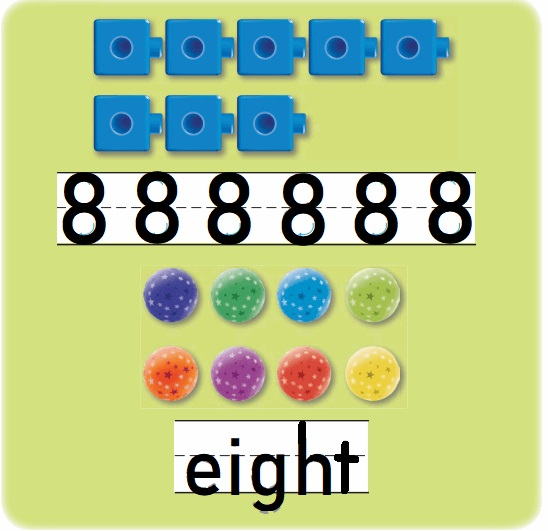 Go-Math-Grade-K-Chapter-3-Answer-Key-Represent-Count-and-Write-Numbers-6-to-9-Lesson-3.6-Count-and-Write-to-8-Listen-and-Draw