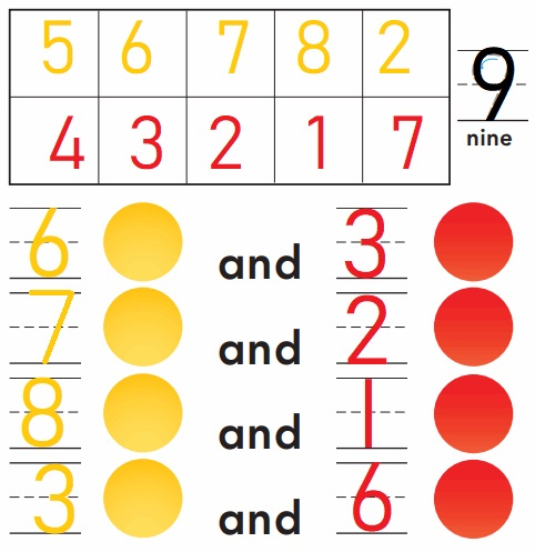 Go-Math-Grade-K-Chapter-3-Answer-Key-Represent-Count-and-Write-Numbers-6-to-9-Lesson-3.7-Model-and-Count-9-Listen-and-Draw-Share-and-Show-Question-4