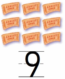 Go-Math-Grade-K-Chapter-3-Answer-Key-Represent-Count-and-Write-Numbers-6-to-9-Lesson-3.8-Count-and-Write-to-9-Listen-and-Draw-Share-and-Show-Question-3