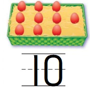 Go-Math-Grade-K-Chapter-4-Answer-Key-Represent-and-Compare-Numbers-to-10-Lesson-4.2-Count-and-Write-to-10-Share-and-Show-Question-2