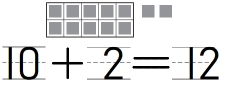 Go-Math-Grade-K-Chapter-7-Answer-Key-Represent-Count-and-Write-11-to-19-Count-and-Write-11-and-12-Homework-&-Practice-7.2-Lesson-Check-Question-1