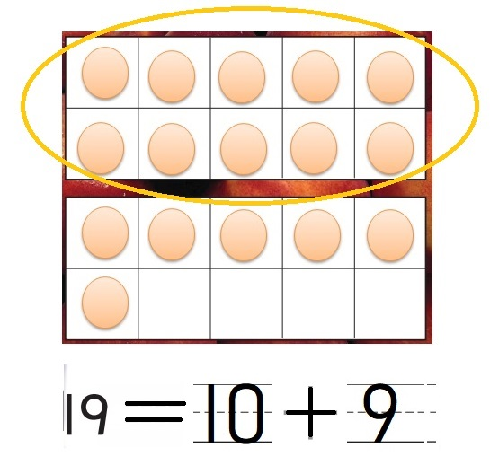 Go-Math-Grade-K-Chapter-7-Answer-Key-Represent-Count-and-Write-11-to-19-Lesson-7.10-Count-and-Write-18-and-19-Problem-Solving-Applications-Question-8