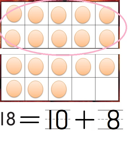 Go-Math-Grade-K-Chapter-7-Answer-Key-Represent-Count-and-Write-11-to-19-Lesson-7.9-Model-and-Count-18-and-19-Problem-Solving-Applications-Question-9