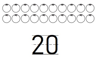 Go-Math-Grade-K-Chapter-8-Answer-Key-Represent,-Count,-and-Write-20-and-Beyond-Count-and-Write-to-20-Homework-&-Practice-8.2-Question-2