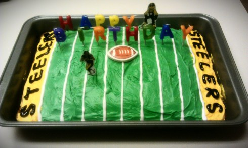 Pittsburgh Steelers Birthday Cake