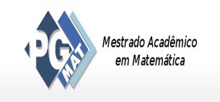 UFCG abre processo seletivo para Mestrado Acadêmico em Matemática