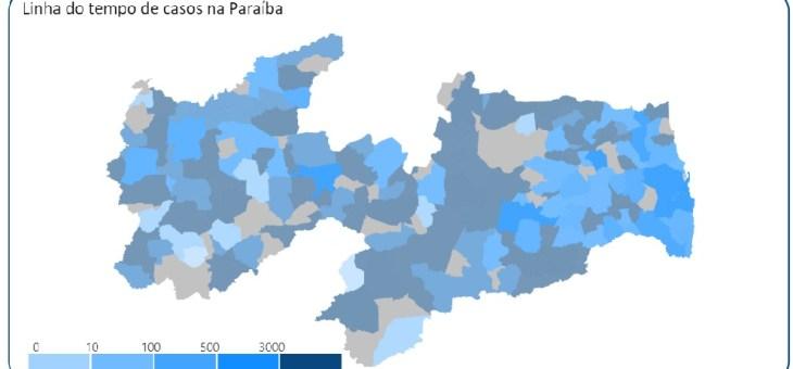Professor da UFCG cria site para registrar informações sobre pandemia da Covid-19 na Paraíba