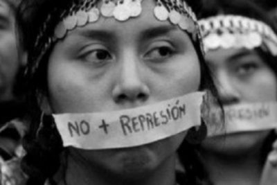 No más asesinatos, no más violencia represiva en el Wallmapu ...