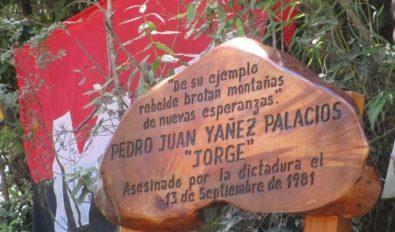 Placa Pedro Yañez (Jorge)