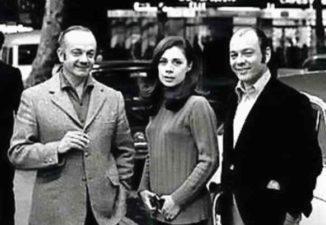 Astor Piazzolla, Amelita Baltar y Horacio Ferrer.