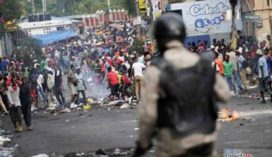 haiti 6 semana-protestas