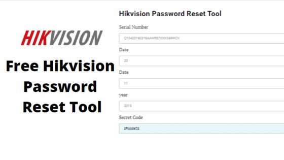hikvision password reset