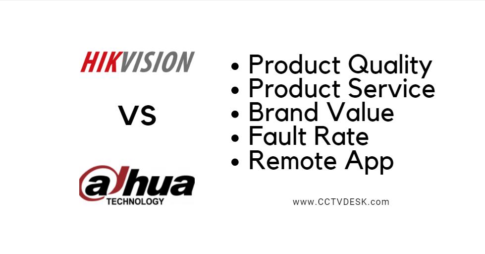 hikvision vs dahua