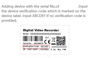 ezviz dvr serial number